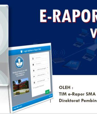 Update E-Rapor SMA Versi 2018.f